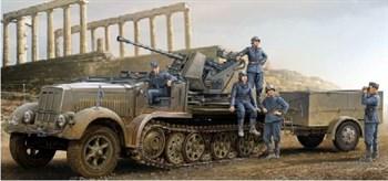 37 мм Flak 37 на Sd Kfz. 7/2 (ранняя) (1:35)