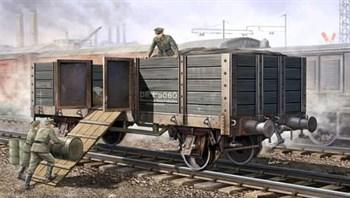 Железножорожный полувагон (1:35)