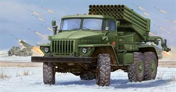 """Реактивная установка  БМ-21 """"Град"""" ранняя (1:35)"""