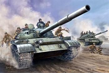 Танк  Т-62 обр. 1962 г. (1:35)