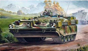 Танк  Strv 103C (1:35)