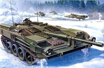 Танк  Strv 103B (1:35)