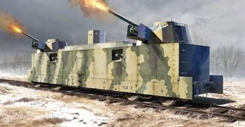 Ж\д вагон  ПЛ-37 советский артиллерийский (1:35)