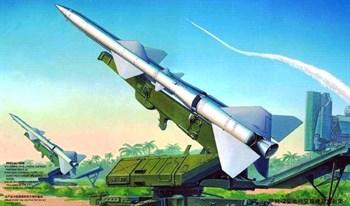 Пусковая установка с ракетой (1:35)