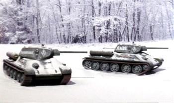 Танк  T 34 / 76 мод.42  (2 быстросборные модели) (1:72)