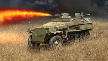 Бронетранспортер  Sd.Kfz.251/16 Flammpanzerwagen (1:72)
