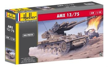 Танк  AMX 13/75 Lance SS11 (1:35)