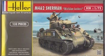 "Танк M4A2 SHERMAN ""DIVISION LECLERC""  (1:72)"