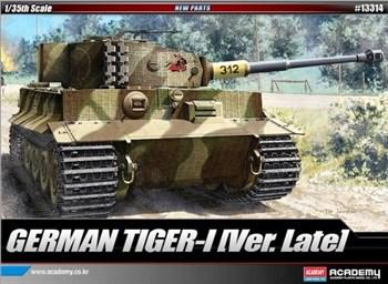 Танк  Pz.Kpfw.VI Тигр I поздний выпуск (1:35)