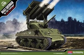 """M4a3 Sherman W/ T34 """"Calliope""""  (1:35)"""