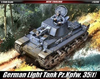 Танк  GERMAN ARMY 35(t) (1:35)