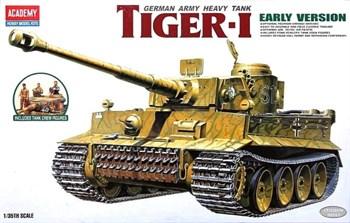 Танк  Pz.Kpfw.VI Tiger I ранний (1:35)