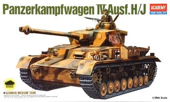 Танк  German Panzer Iv H/J (1:35)