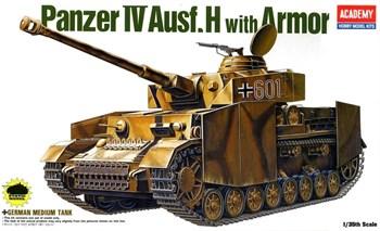 Танк  GERMAN PANZER IV H W/ARMOR (1:35)