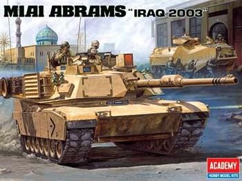 """Танк  М1А1 """"Абрамс"""" в Ираке (1:35)"""