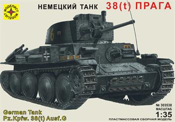 """Танк 38(t) """"Прага"""" (1:35)"""