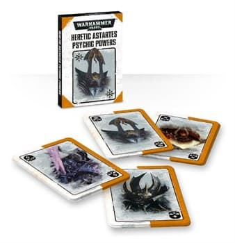 Heretic Astartes Psychic Power Cards Eng
