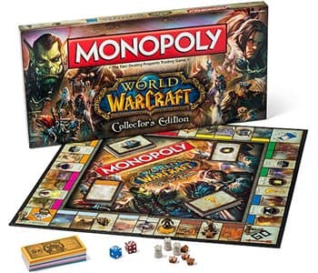 HASBRO (АНГЛ): МОНОПОЛИЯ WORLD OF WARCRAFT