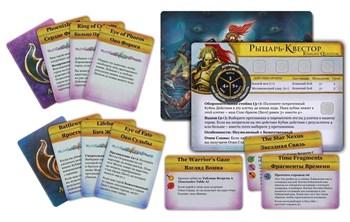Печать книги правил и карточек Silver Tower