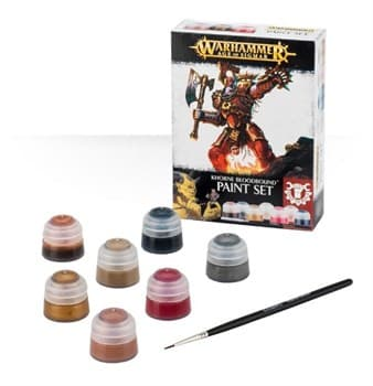 Khorne Bloodbound Paint Set