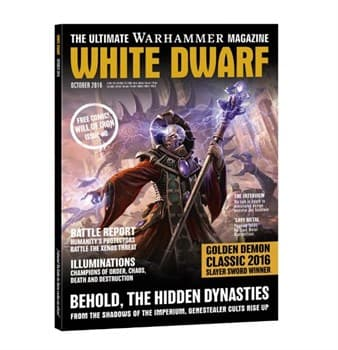 "ЖУРНАЛ ""БЕЛЫЙ ДВАРФ ОКТЯБРЬ 2016 (АНГЛ.)(WHITE DWARF WEEKLY OCT 2016)"""