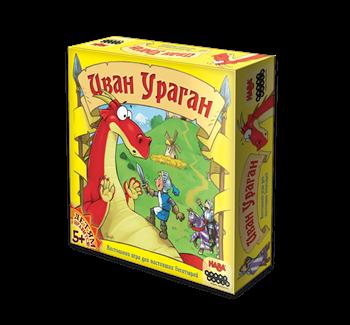 Купите настольную игру Иван Ураган в интернет-магазине Лавка Орка. Быстрая доставка по РФ!
