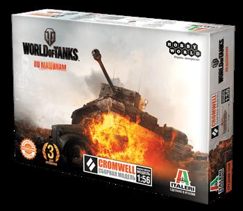 Купите World of Tanks. Сборная модель танка CROMWELL в масштабе 1:56 Лавка Орка Интернет-магазин Доставка по РФ