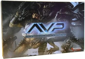 AVP Game - Чужой против Хищника (box)