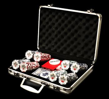"""""""Premium 200"""", набор для игры в покер, 200 фишек по 11,5 грамм.""""Premium 200"""", набор для игры в покер, 200 фишек по 11,5 грамм."""