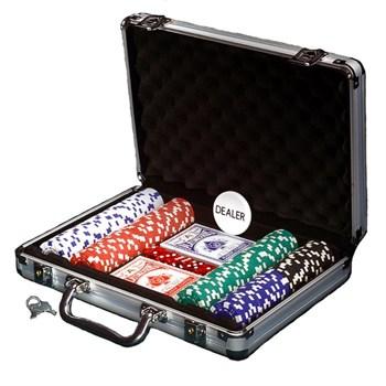 """""""Empire 200"""", набор для игры в покер, 200 фишек по 11,5 грамм."""