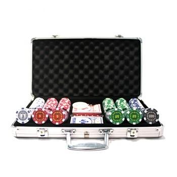 """""""Russian Pro 300"""", набор для игры в покер, 300 фишек по 11,5 грамм."""
