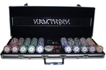 """""""Nightman500""""Профессиональный набор для игры в покер.500 фишек по 14грамм."""