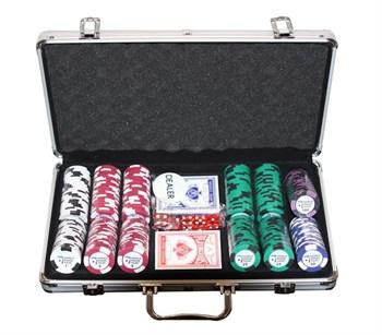 """""""WPT 300"""", набор для игры в покер, 300 фишек по 14гр."""