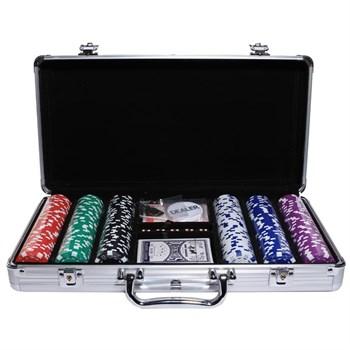 """""""Nightman Premium 300""""Профессиональный набор для игры в покер.300 фишек по 14грамм"""