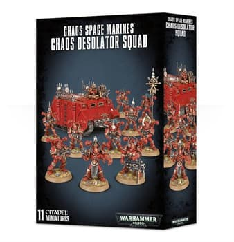 Chaos Space Marines Chaos Desolator Squad