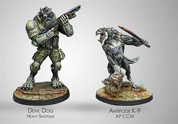 "Купите Devil Dogs Teams, 2nd Assault Bat. of the USAMC в интернет-магазине ""Лавка Орка"". Доставка по РФ от 3 дней."