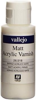 Покрывной матовый лак Vallejo 26518