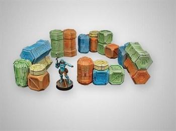 """Купите Cargo Crates Set 1 в интернет-магазине """"Лавка Орка"""". Доставка по РФ от 3 дней."""