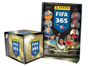 """БОКС НАКЛЕЕК PANINI """"FIFA 365-2017"""" + ЖУРНАЛ"""