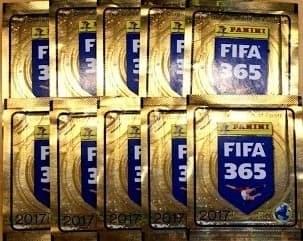 БУСТЕР С НАКЛЕКАМИ PANINI FIFA 365 - 2017