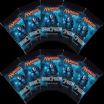 10 Бустеров издания «Тени над Иннистрадом» на русском языке (rus)