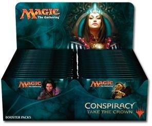 Дисплей бустеров издания «Conspiracy Take the Crown» на английском языке (36 бустеров)(eng)