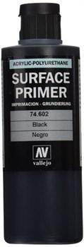 Акриловый грунт - полиуретановый / Черный, 200мл.