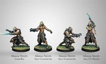 Купите Набор миниатюр Makaul Troops в интернет-магазине «Лавка Орка». Доставка по РФ от 3 дней.