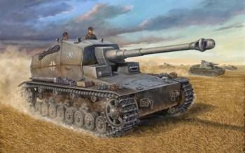 """САУ 128-мм L/61 """"Штурер Эмиль"""" (1:72)"""