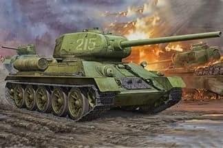 Танк  Т-34/85 (1:72)