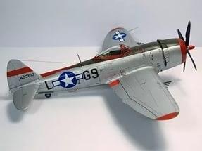 Самолет  P-47D 354FG (1:48)