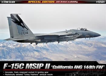 Самолёт  F-15C California ANG 144th FW  (1:72)