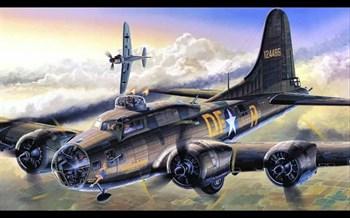 """САМОЛЕТ B-17F """"MEMPHIS BELLE"""" (1:72)"""