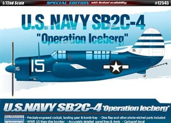 "САМОЛЕТ U.S.NAVY SB2C-4 ""OPERATION ICEBERG"" (1:72)"